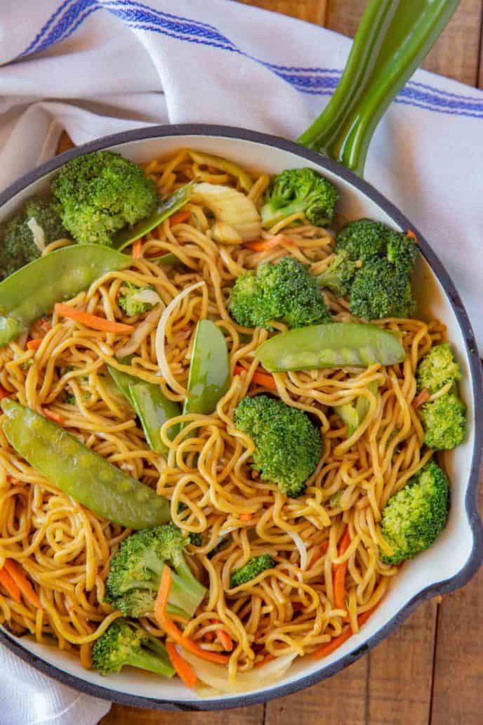 Vegetable Chow Mein (V)